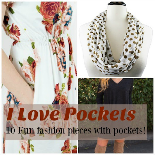 10 Fun Fashion Pieces with Pockets!