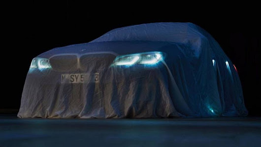 2019 BMW 3 Series Official Teaser Likely Shows M340i