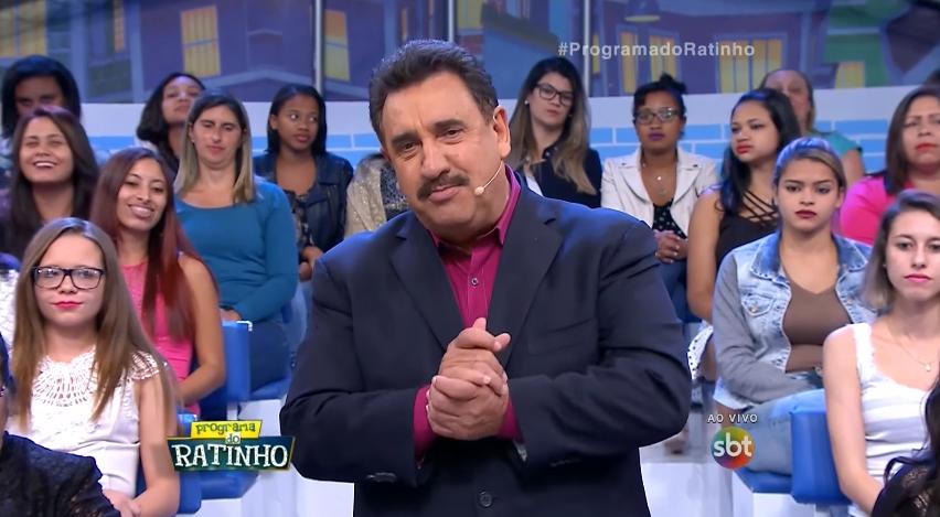 Ratinho em seu programa no SBT, ontem (29) (Foto: Reprodução/SBT)