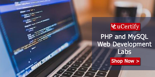 Learn The Skills Of Web Development With PHP And MySQL With uCertify Course
