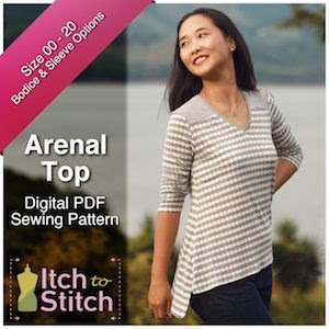 Itch to Stitch Arenal Top Ad 300 x 300