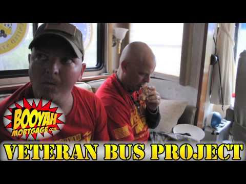 Day 15 - Booyah Veteran Bus Project - Enjoying The Day With Family, Hitman & Kristi