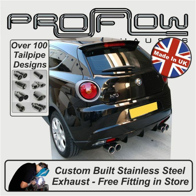 Alfa Romeo Mito Exhaust System Cat Back Mid \u0026 Rear only Free Fitting in Store  eBay