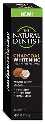 Charcoal Whitening Toothpaste Fluoride-Free
