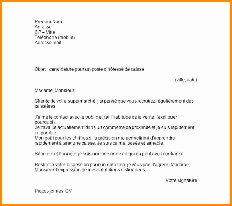 Lettre De Motivation Job Boulangerie Perodua C