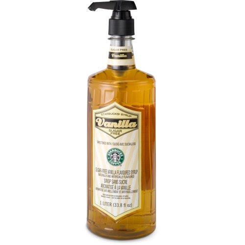 Starbucks® Sugar-Free Vanilla Syrup (1-L.) 762111653550 | ToolFanatic.com