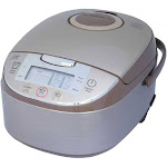 Sunpentown 8 Cups Capacity Automatic Adjustment Smart Rice Cooker