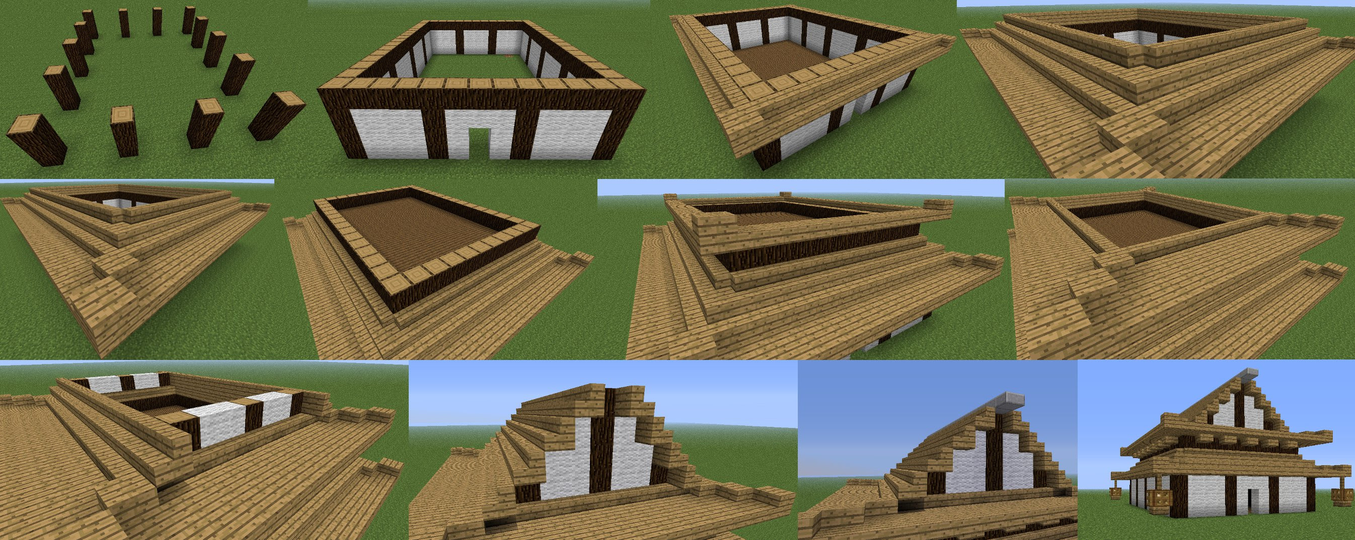 Japanese Building Style In Minecraft Minecraft Guides