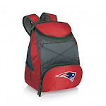 Picnic Time 633-00-100-194-2 PTX Backpack Cooler New England Patriots Digital Print Red