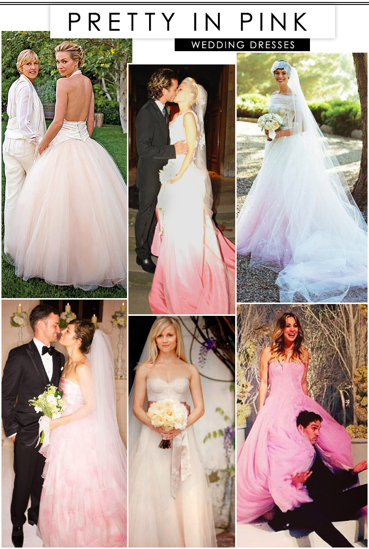 Pretty in Pink Wedding Dresses at LuLus.com!