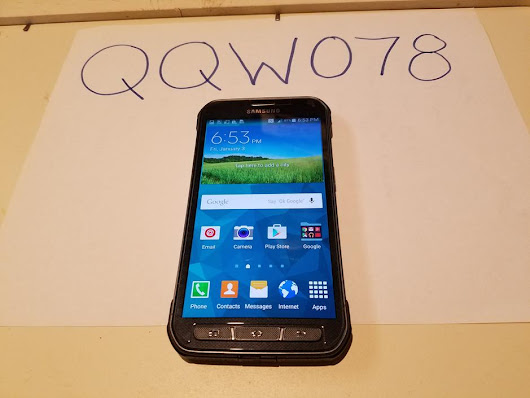 Samsung Galaxy S5 Active (AT&T) For Sale - $169 on Swappa (QQW078)