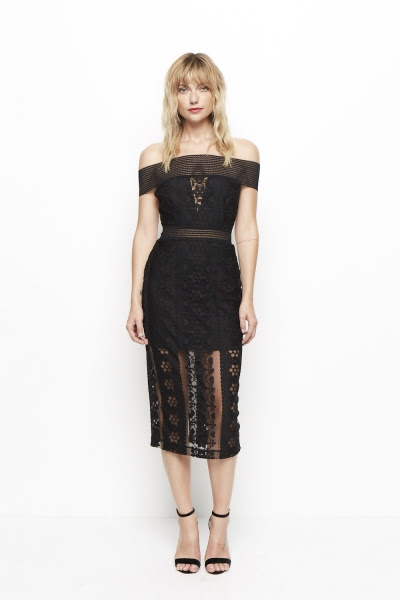 Alice McCall Cake By The Ocean Midi Dress UK online stockist Fab Designer Boutique