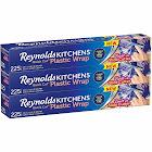 Reynolds Kitchens Quick Cut Plastic Wrap - 3 pack