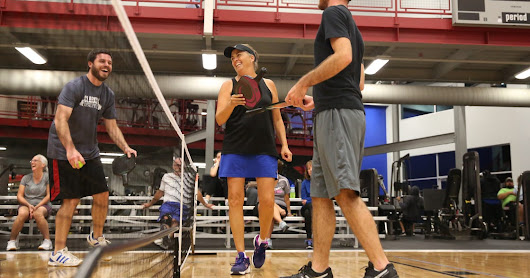 Pickleball like 'table tennis on steroids'