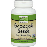 Now Foods Broccoli Seeds for Sprouting - 4 oz jar