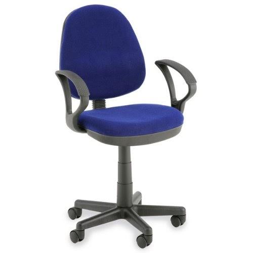 chambre denfant chaise de bureau bleu avec accoudoirs
