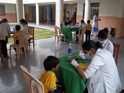 Oral Health Screening by Trinity Care Foundation