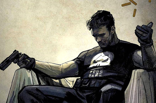 When the Punisher, a brutal comic-book vigilante, comes to your local police department, it can't be good