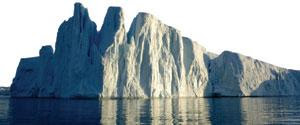 The calving rate of some Greenland glaciers has increased.