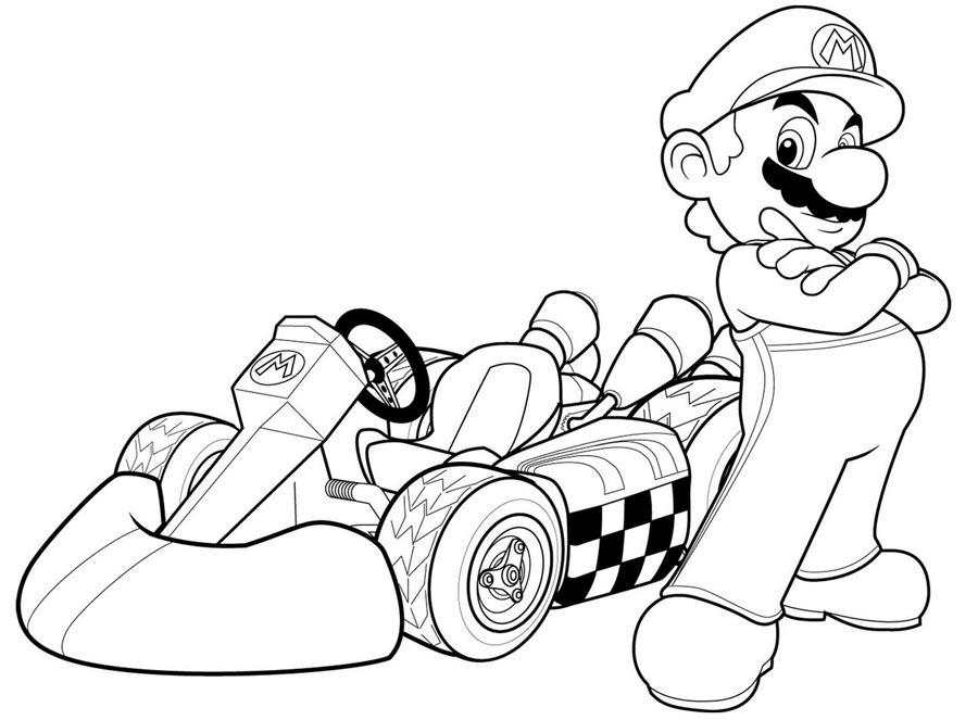 138 Dibujos De Mario Bros Para Colorear Oh Kids Page 11