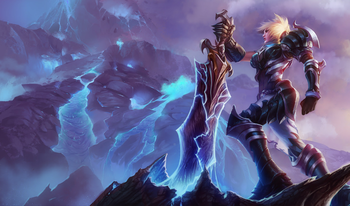 Championship Riven Skin League Of Legends Wallpapers