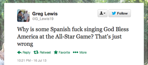 Baseball Fans SUPER ANGRY Hispanic American Superstar Sang 'God Bless America' at All-Star Game