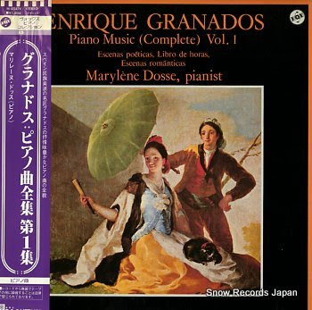 DOSSE, MARYLENE granados; piano music vol.1