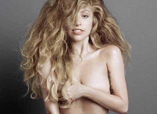 Lady Gaga nude v magazine