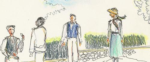 Actors in Two Gentlemen of Verona, Peterborough, NH