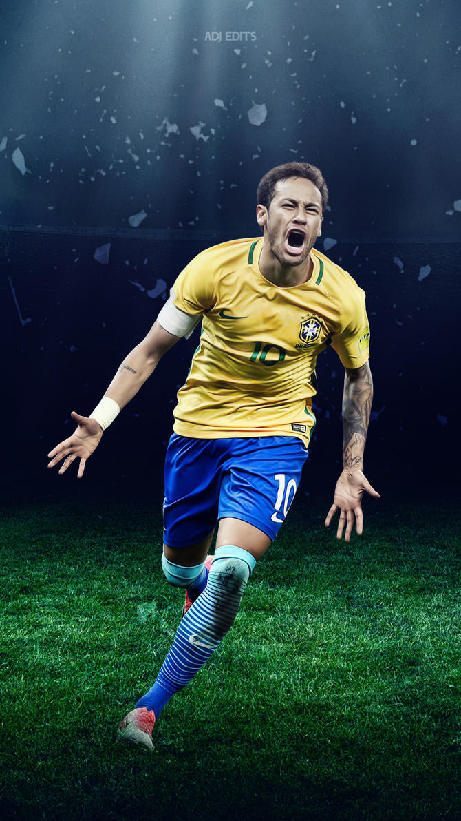 Neymar Jr. Brazil Lockscreen Wallpaper HD by adi-149 on ...