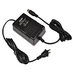 HQRP 9V AC Adapter for Alesis P4 AC09 25D 4-pin DIN Connector 9V AC Power Supply Replacement fits QSR DMPro drum machine MIDI Data Disk Quadraverb GT