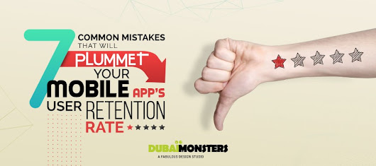 7 Common Mistakes That Will Plummet Your Mobile App's User Retention Rate