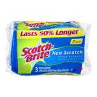 3M Scotch-Brite Non-Scratch Multi-Purpose Scrub Sponge - 3 pack