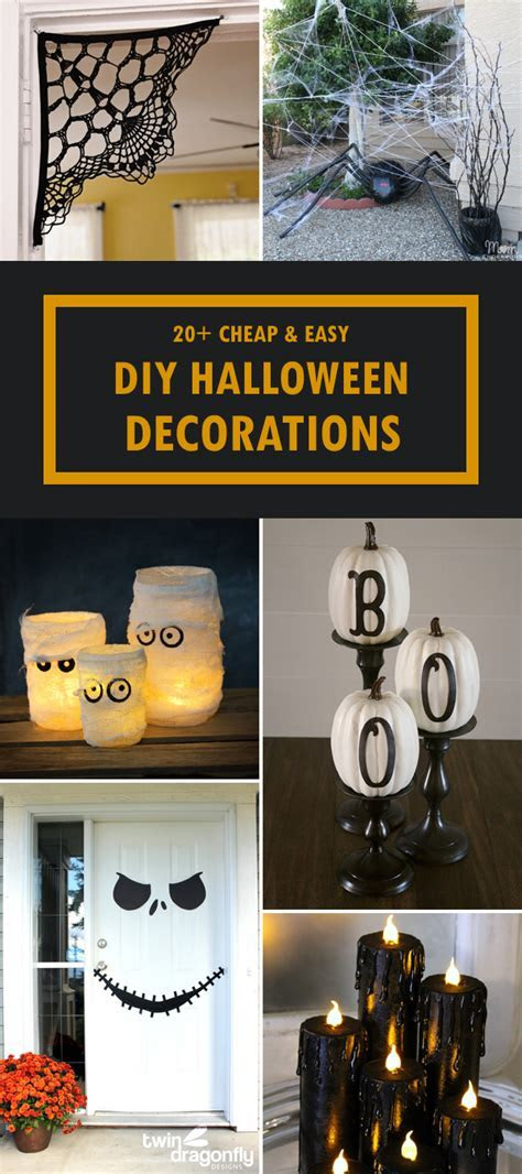 20  Cheap and Easy DIY Halloween Decorations