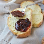 Plum, Chocolate and Amaretti Jam