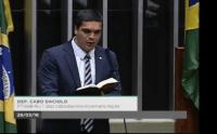 """Deputado evangélico expulsa demônios do Congresso e da Globo: """"Saiam em nome de Jesus"""""""