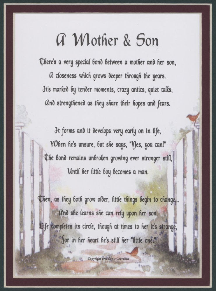 Mother Son Quotes For Facebook. QuotesGram