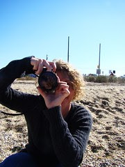 Laura takes a picture of me taking a picture