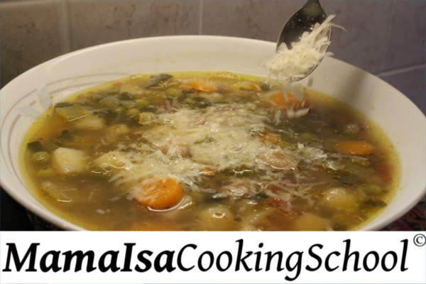 Classic Minestrone Soup in Mama Isa's Style