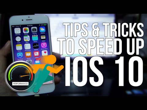 Top 10 Free Methods to Speed up Slow iOS 10, iOS 10.1 on iPhone iPad - iOS Device Recovery Blogs - Easy Recovery Options