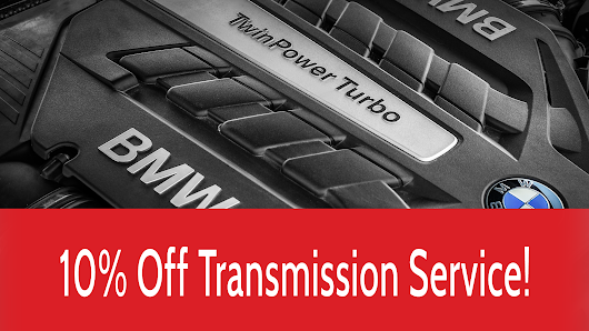 10% off Transmission Service, German auto discount November 2018