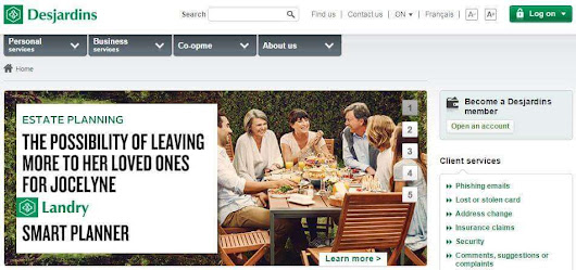 Here's Why Desjardins Has A Good Website -