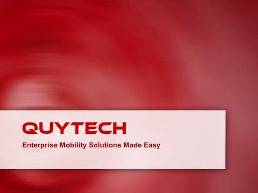 Mobile Apps for Security Guard By Quytech
