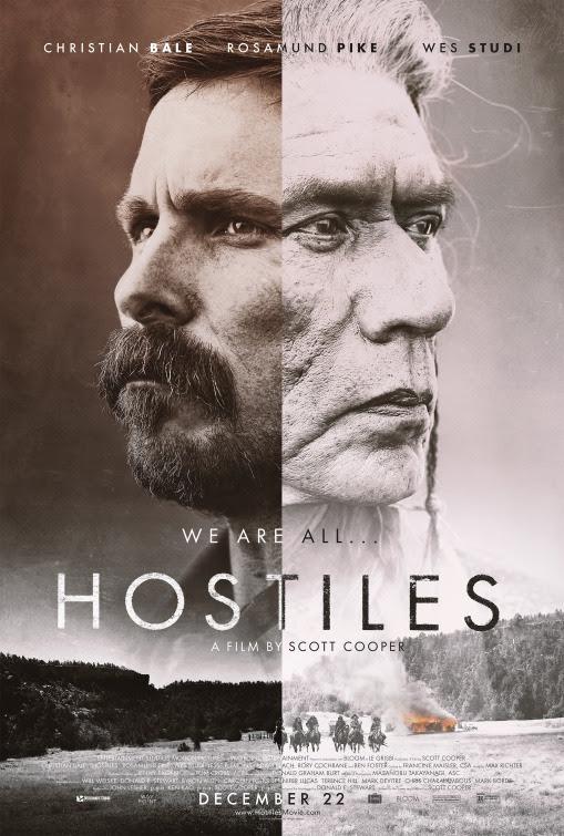 Resultado de imagem para movie poster Hostiles