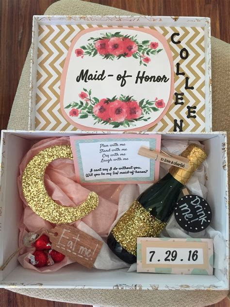 Top 25  best Maid of honour gifts ideas on Pinterest