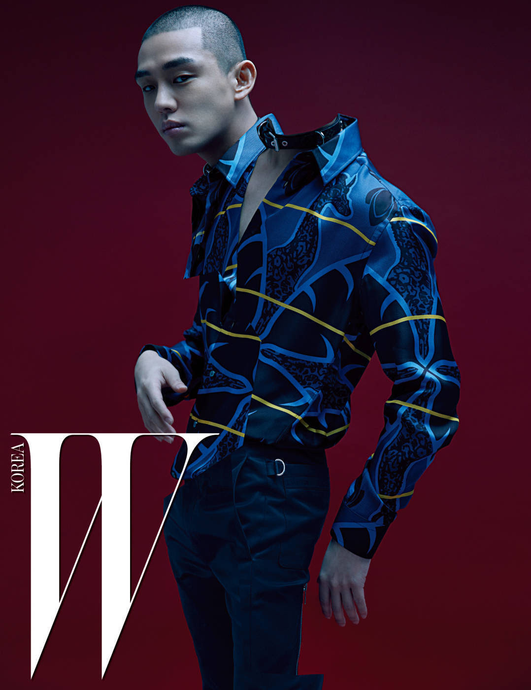 Yoo Ah In - W Magazine January Issue '17