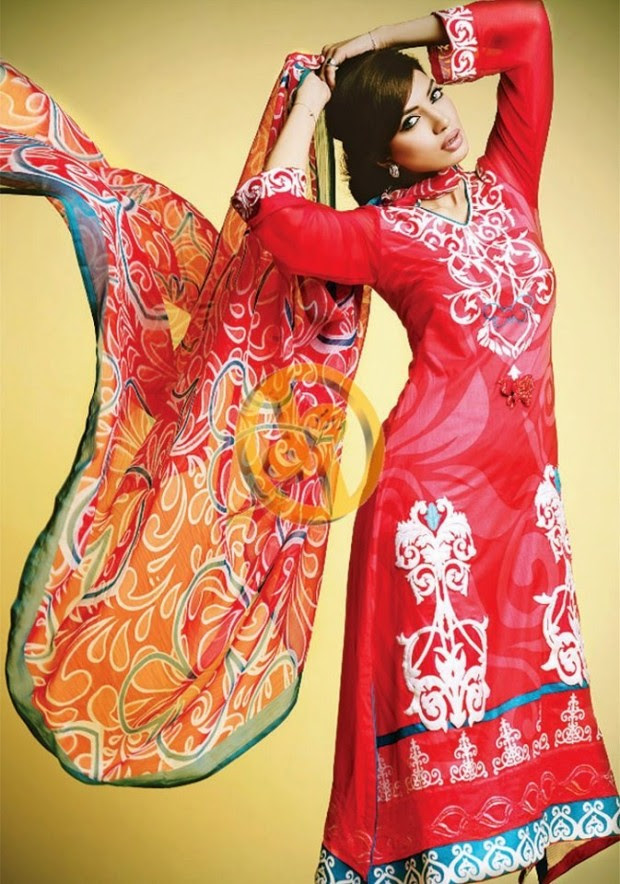 Dawood-Textile-Girls-Women-Printed-Lawn-Prints-Fashion-Suits-Kuki-Concepts-Fall-Winter-Collection 2013-14-2