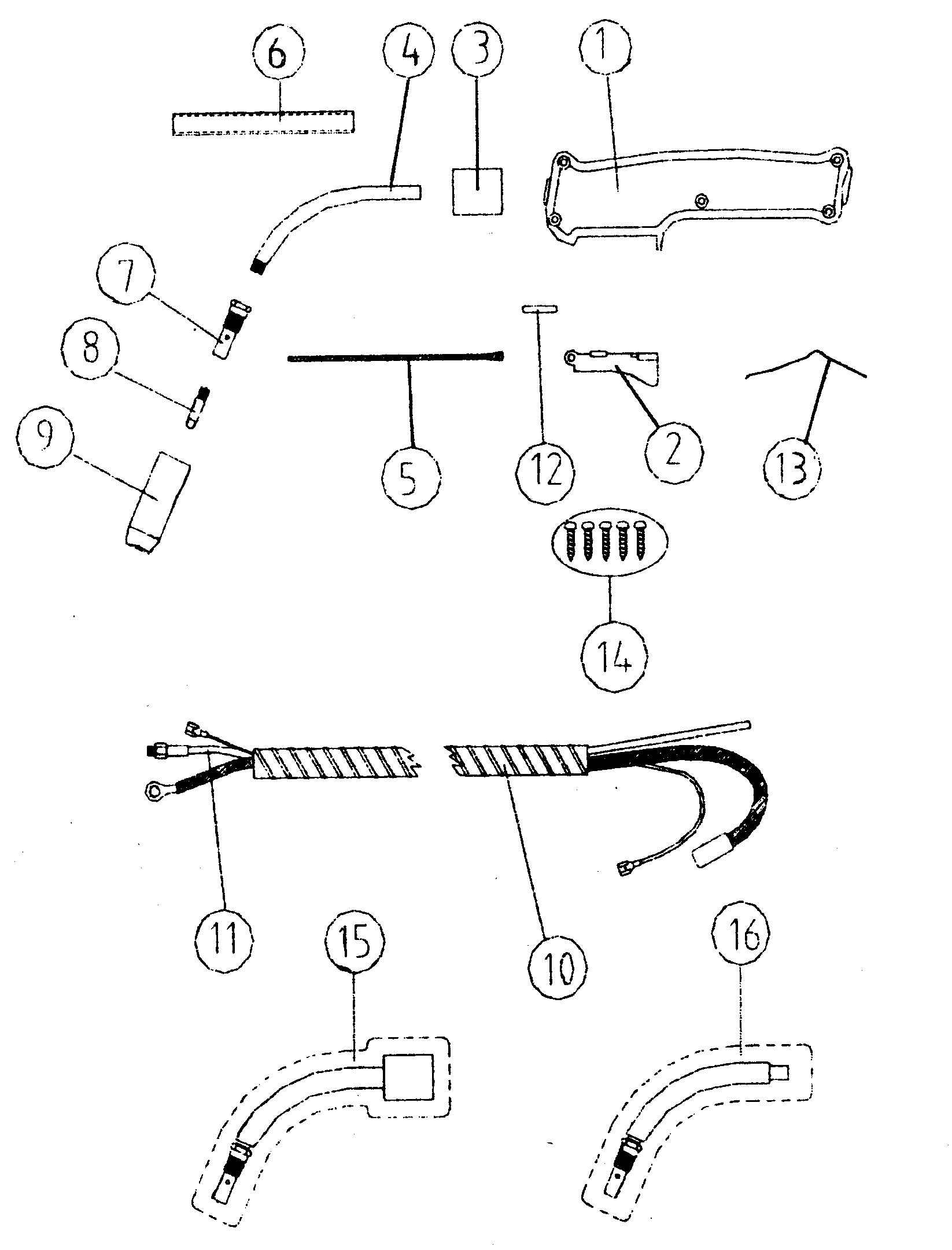 TORCH SPARE Diagram & Parts List for Model 196205660 ...