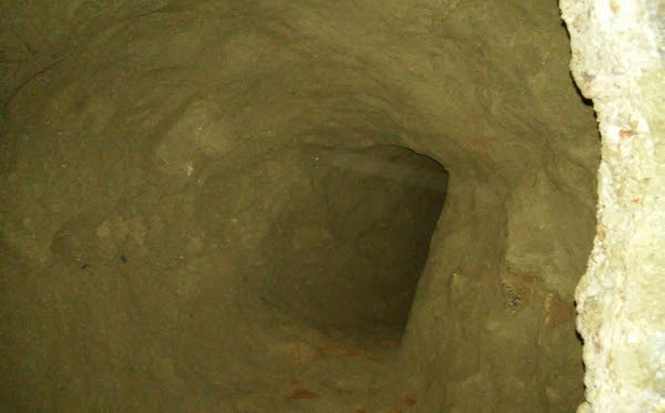 Túnel é encontrado no Presídio de Caicó – (FOTO: Departamento de Radiojornalismo da Rádio Caicó)
