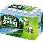 Poland Spring Natural Water - 48 pack, 8 fl oz bottles